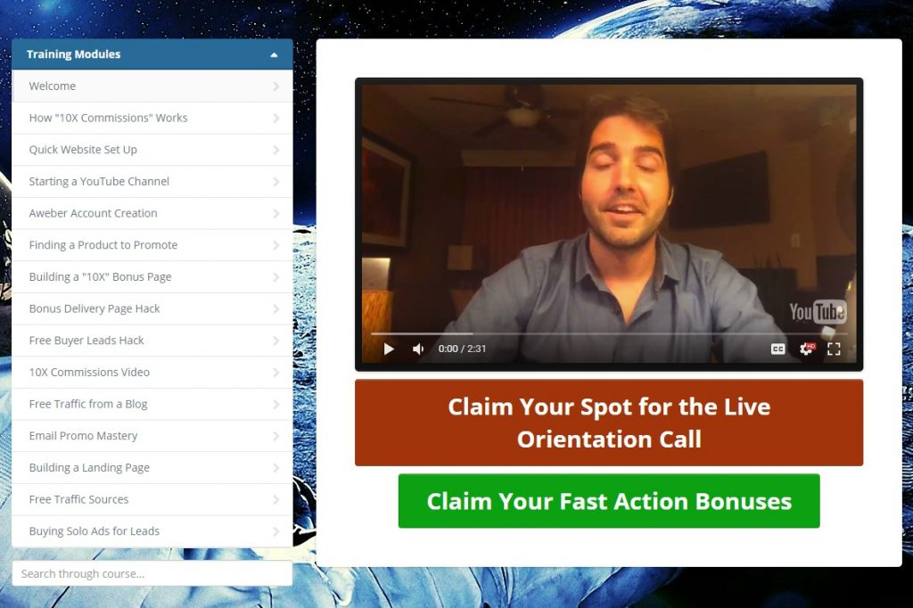 10X Commissions Review Members Area