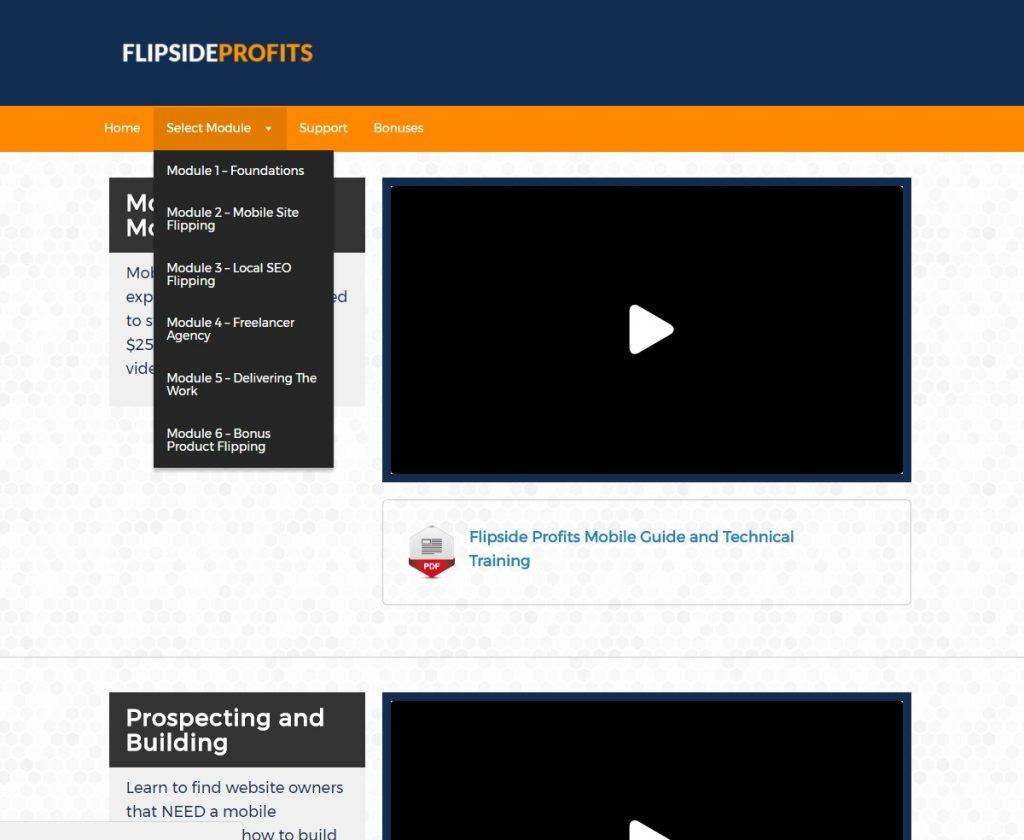 Flipside Profits Review Members Area 2