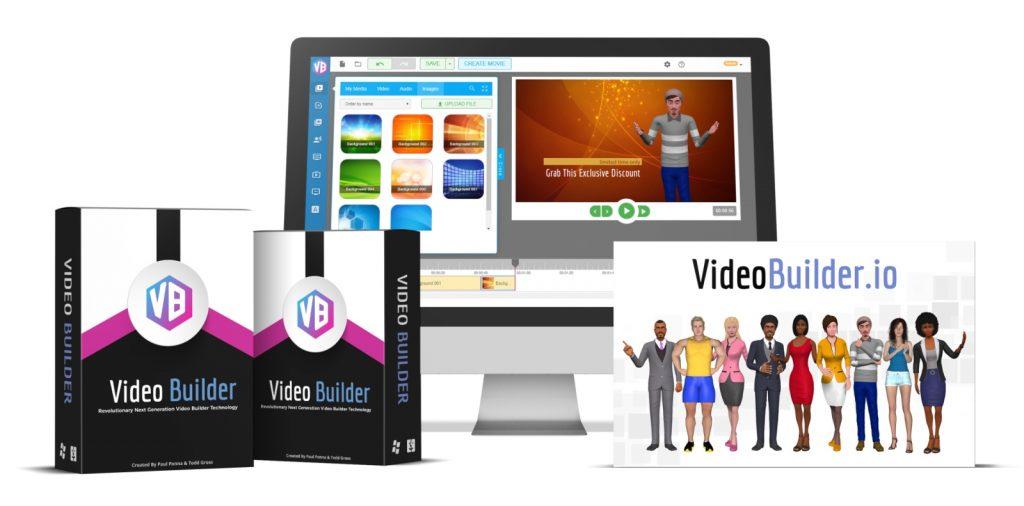 VideoBuilder Product Shot Wide