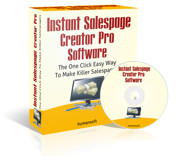Instant Sales Page Creator Pro