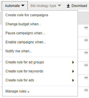 Bing Ads Tips, Tricks & Hacks - Automate