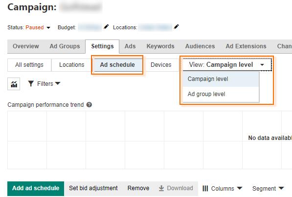 Bing Ads Tips, Tricks & Hacks - Scheduling