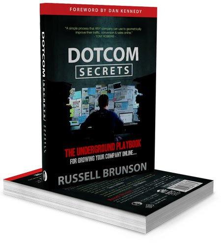 ClickFunnels DotComSecrets Book Cover Art