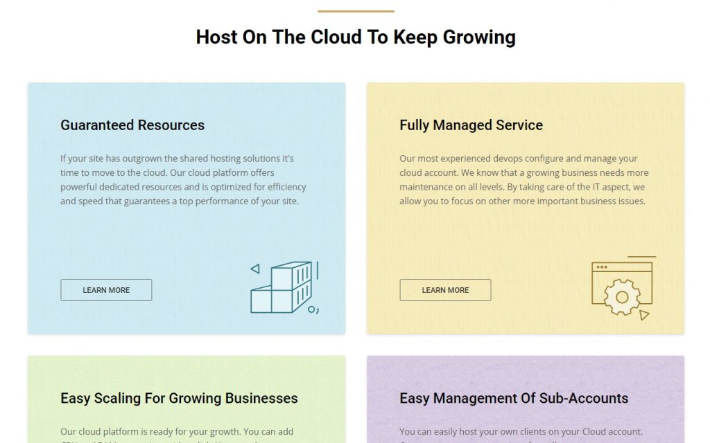 SiteGround Cloud Hosting Features