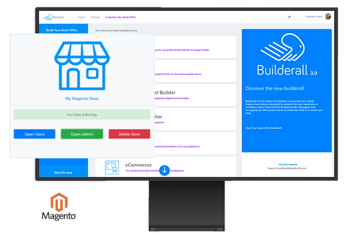 Builderall Ecommerce Feature