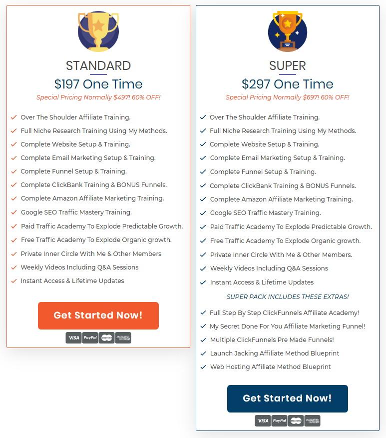 Savage Affiliates 2.0 Pricing & Features