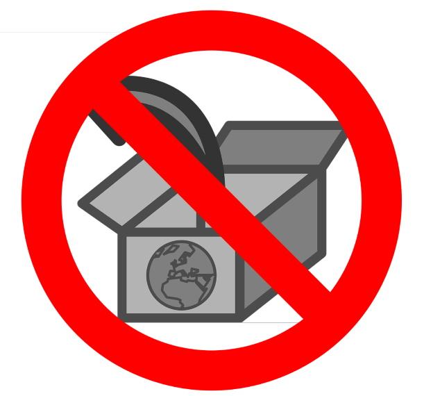 External hosting not allowed