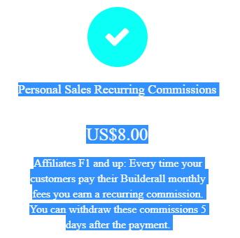 Builderall Affiliate Program Recurring Commissions