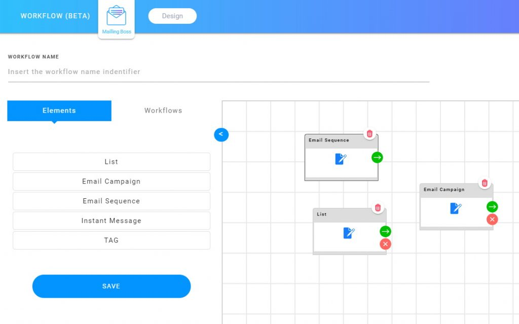 Builderall MailingBoss Workflows