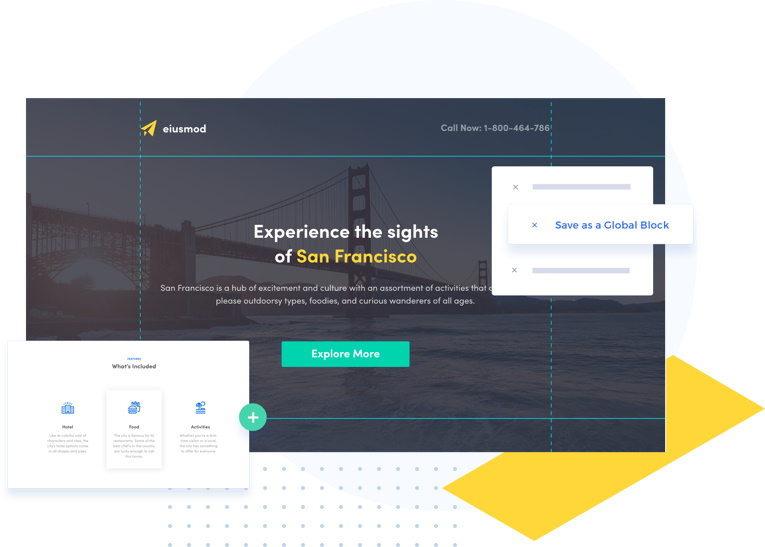 Instapage Features - Landing Page Experience Builder