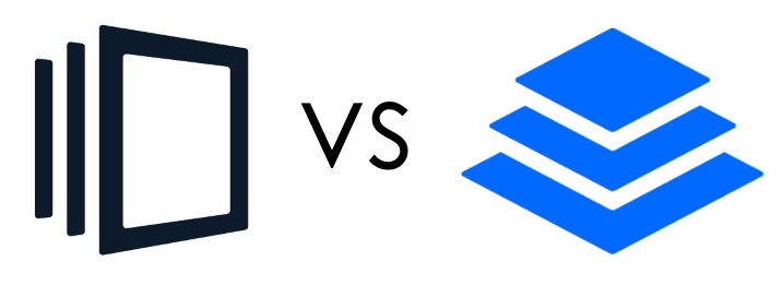 Instapage Vs. Leadpages Logos