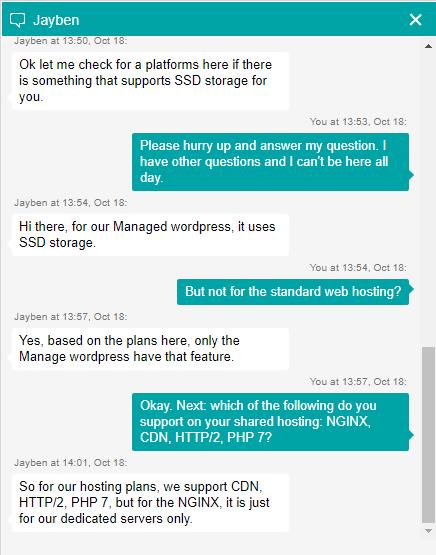 GoDaddy Technologies Live Chat