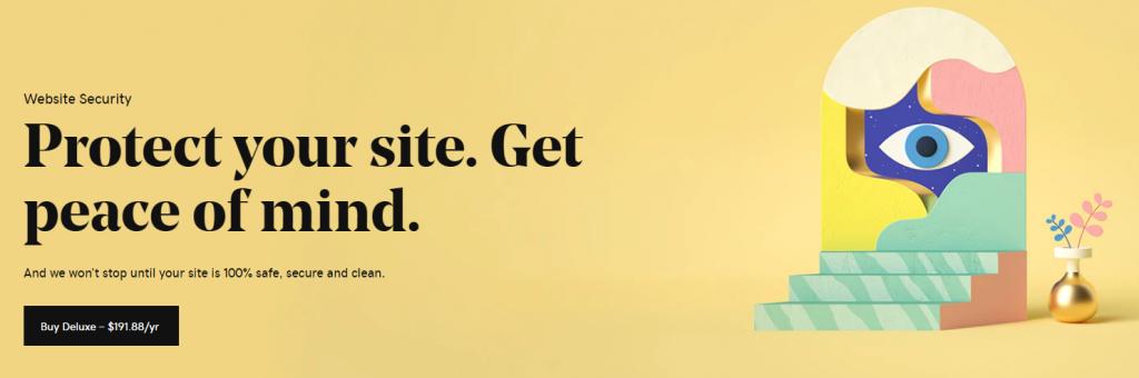 GoDaddy Website Security Info