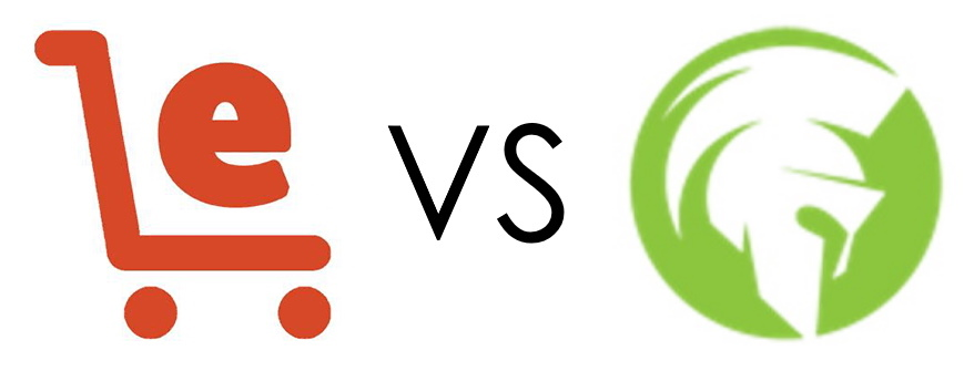 Ecom Elites vs. Ecom Warrior Academy Logos