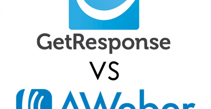 GetResponse vs. AWeber Logos 2
