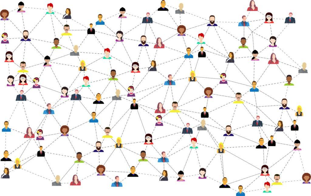 Community network graphic