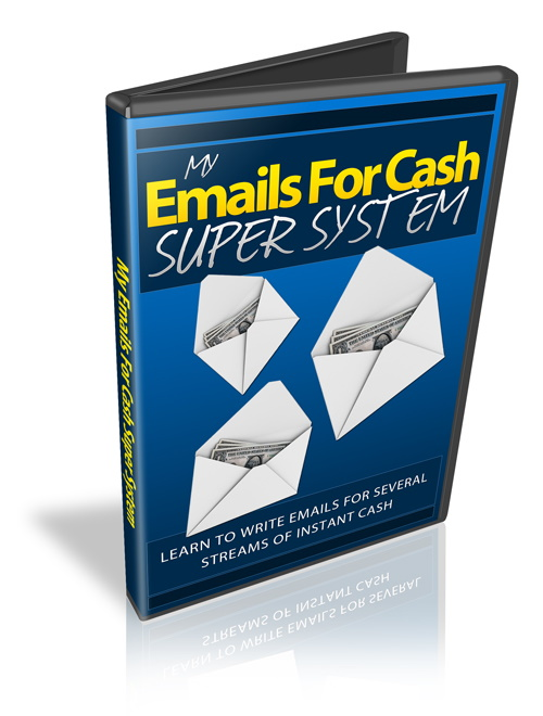 Bonus Cover - My Emails For Cash Super System