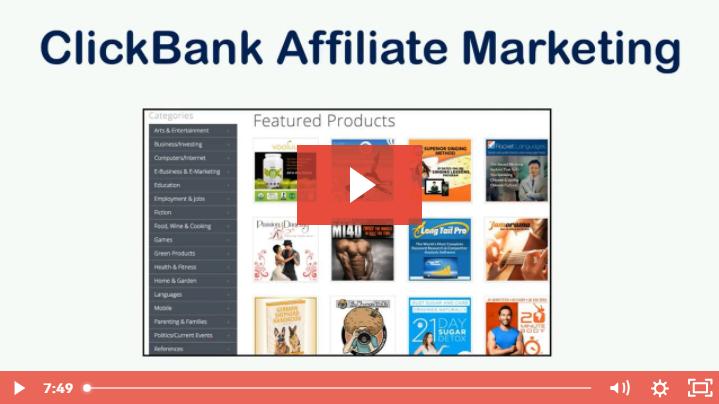 Savage Affiliate - ClickBank Marketing Video